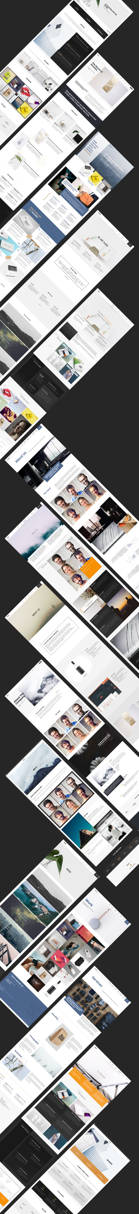 Safal: 5-in-1 Responsive Creative Multipurpose Adobe Muse Theme - 4