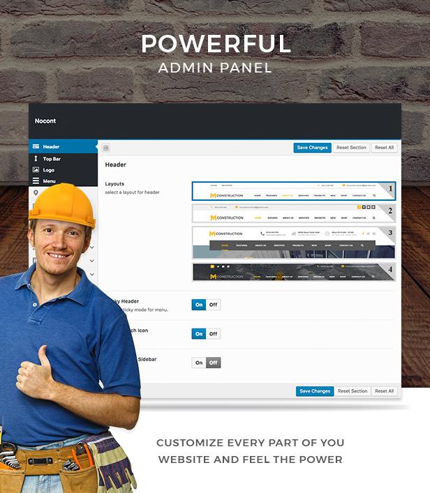 Nocont - Construction & Building WordPress Theme - 8