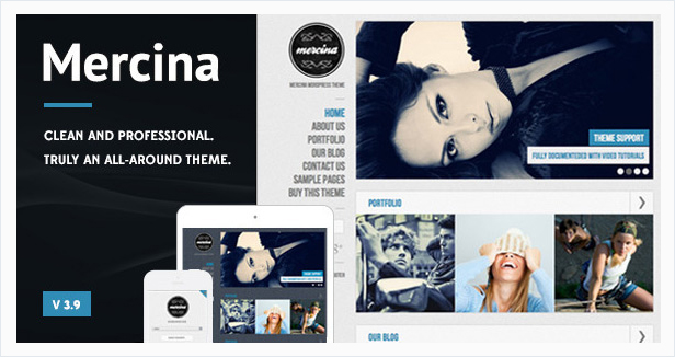 Mercina Wordpress Theme