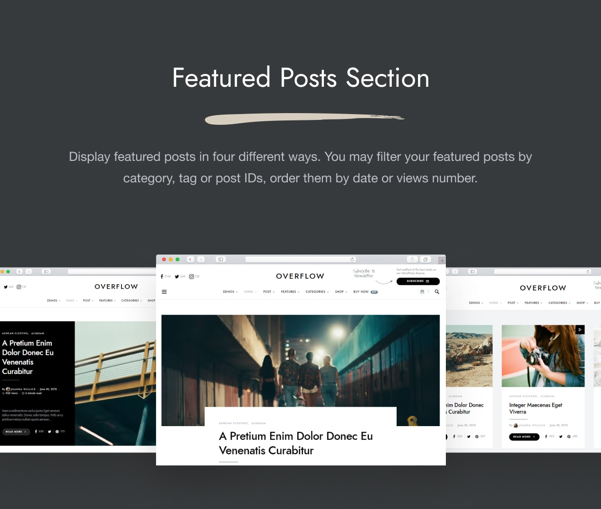 Overflow - Contemporary Blog & Magazine WordPress Theme - 2