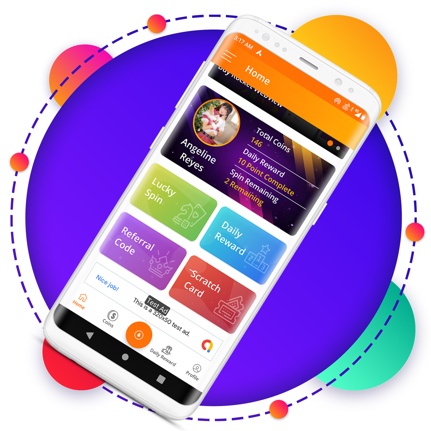 QuickCash All In One Money Earning Android App + Games + WhatsApp Tools + Earning System Admin Panel - 8