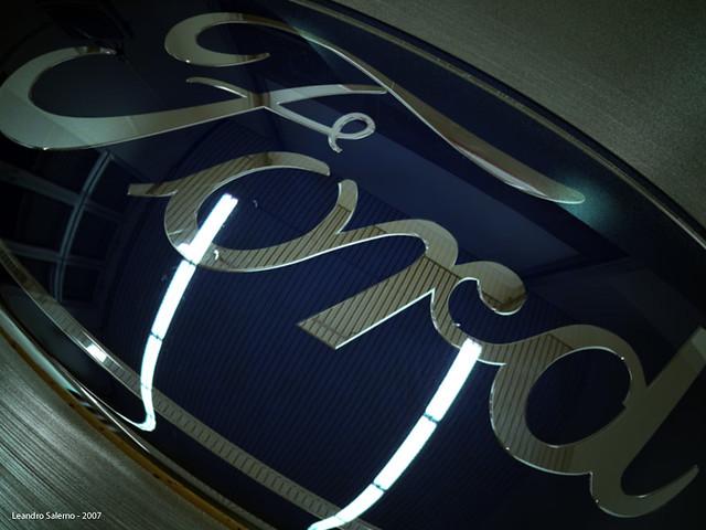 3D Ford Logo garage