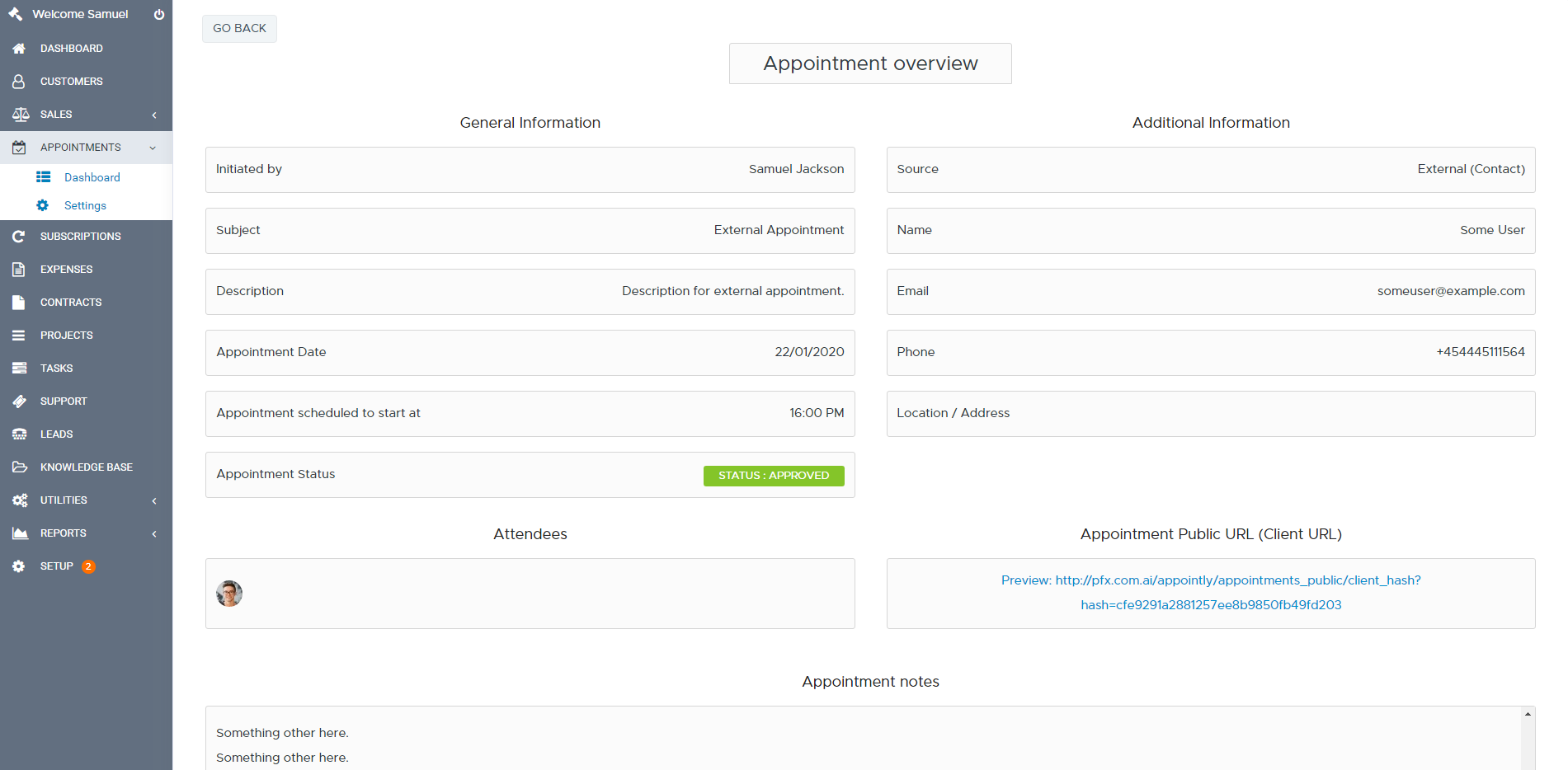 Appointly - Perfex CRM Appointments - 8