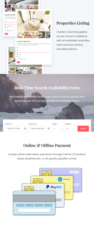 WordPress Hotel Theme - Oceanica - 6