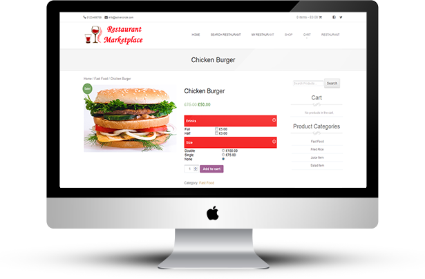 Online Multi Restaurants Marketplace for WooCommerce - 15