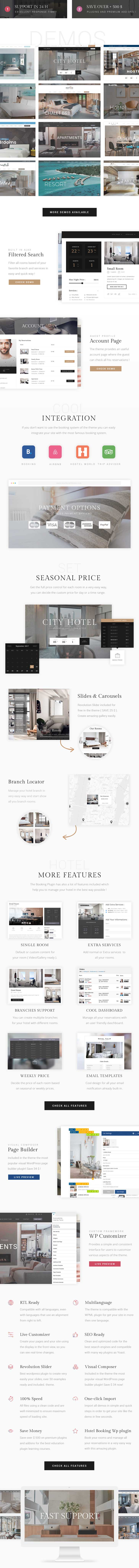 Hotel Booking - Hotel WordPress Theme - 2