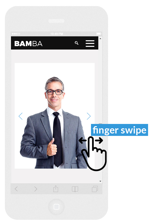 Bamba - One Page Clean Responsive Business HTML5 Template - 5