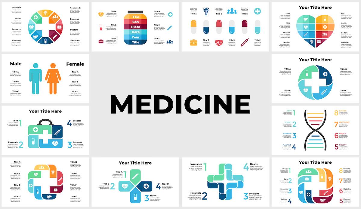 Huge Infographics Bundle! Lifetime Updates! PowerPoint, Photoshop, Illustrator. - 203