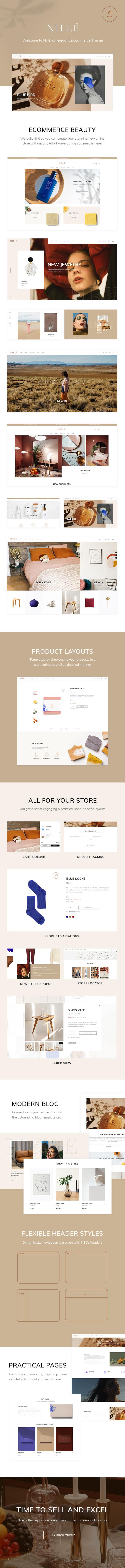 Nillé - Elegant eCommerce Theme - 1