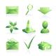 Green labels - 1