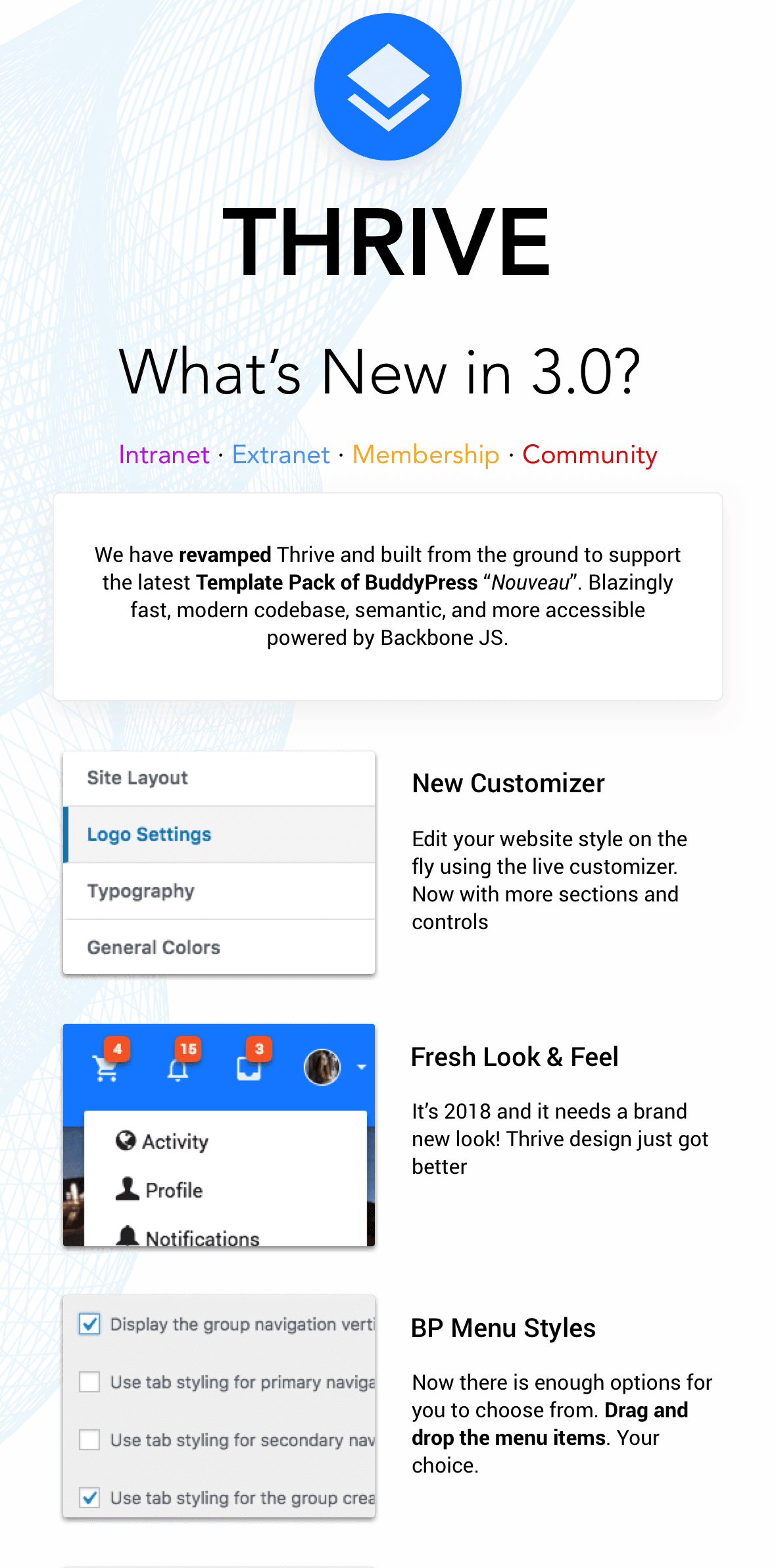 What's new in Thrive 3.0 part 1