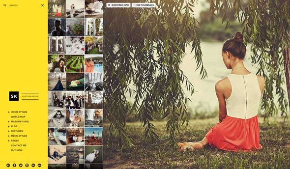 Photography - Full Screen Photography Portfolio, Photo Story Blog & Shop for Creative Professionals - 4