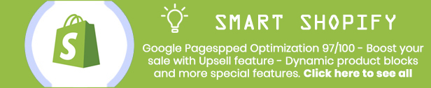 Smart - Shopify themes smart responsive with 7 Unique Homepages - Welcome