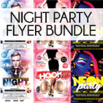 Night Club Flyer Bundle - 4