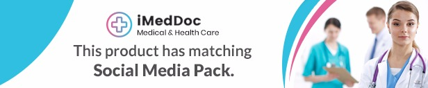 iMedDoc: Medical Center, Health and Wellness HTML5 Template - 1
