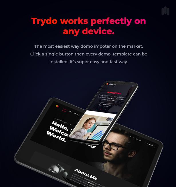 Trydo v1.0.0-Creative Agency&Portfolio WordPress主题插图28