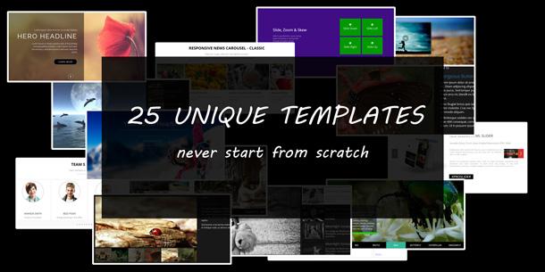 25 templates