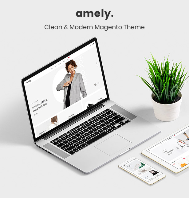 Amely - Clean & Modern Magento 2 Theme - 6