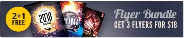 New Year Flyer Bundle Vol.04