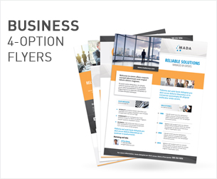 Business Consulting Services Flyers – 4 Options - 2
