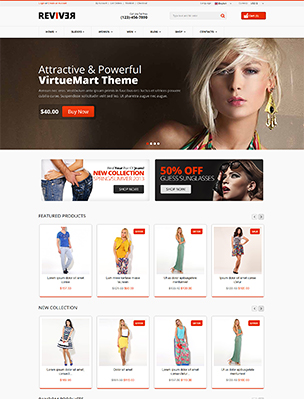 Reviver - Responsive Multipurpose VirtueMart Theme - 10