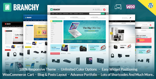 Mega Shop - WooCommerce Responsive Theme by TemplateMela | ThemeForest