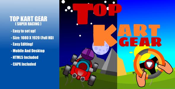 Top Kart Gear   Super Racing