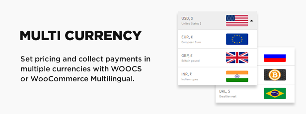 Multi currency support with WooCommerce Multilingual and Woocs