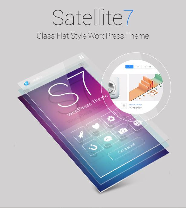 Satellite7 - Retina Multi-Purpose WordPress Theme - 1