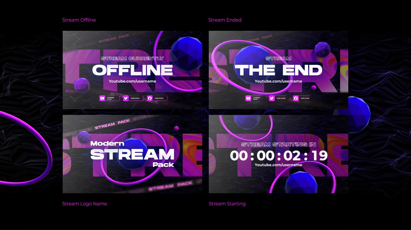 Modern stream pack - 3