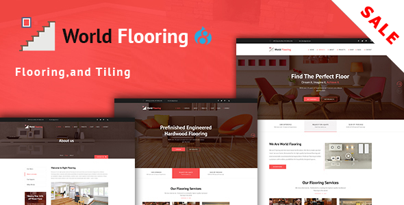 World Flooring - Flooring, Tiling & Paving Services Drupal 8 Theme
