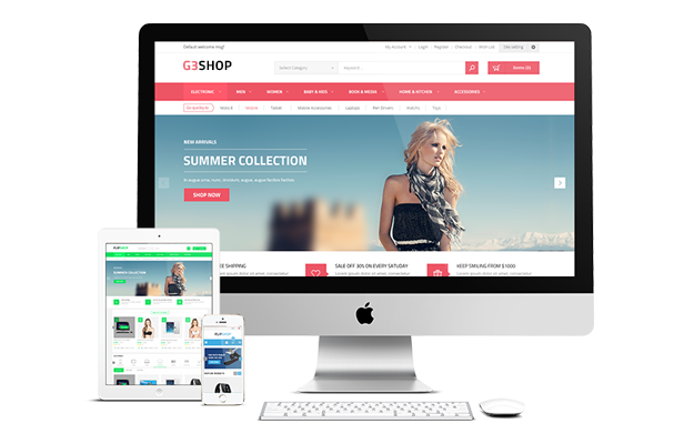 G2Shop- Fully Responsive