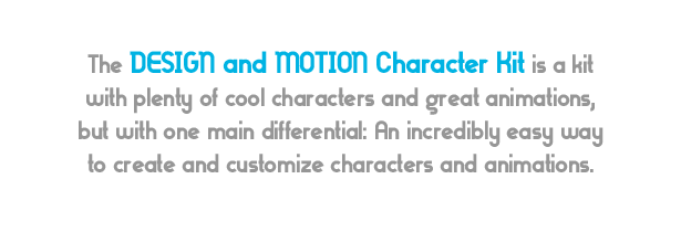 Design and Motion Character Kit - 3