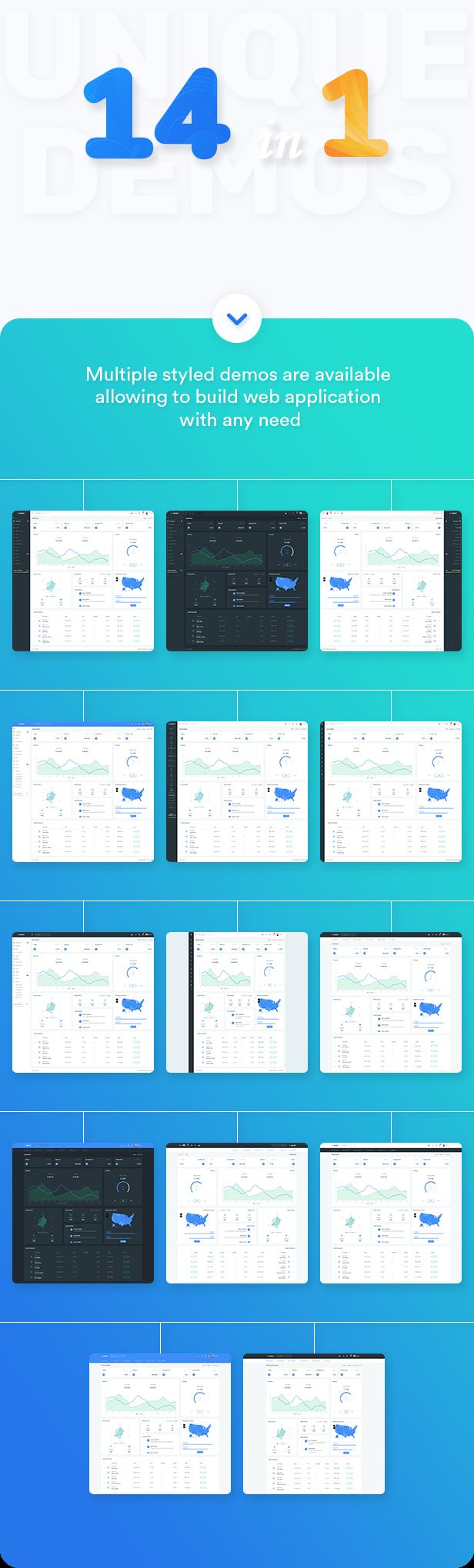 Apaxy - Admin & Dashboard Template - 1