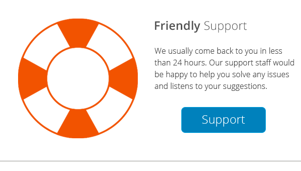 Mega Main Friendly Support