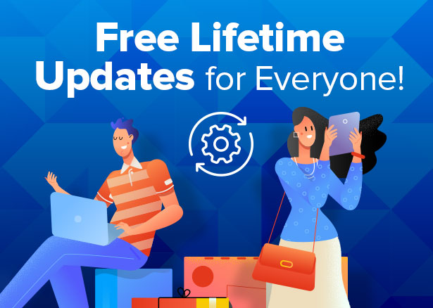 powerful & free lifetime updates