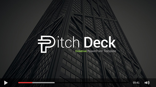 Creative Pitch Deck PowerPoint Template - 1
