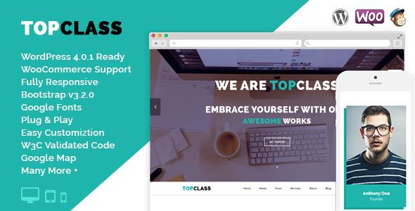 TopClass WordPress Version