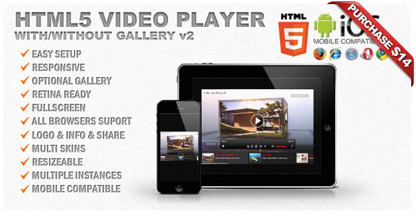 Ultimate Video Player with YouTube, Vimeo, HTML5, Ads - 11