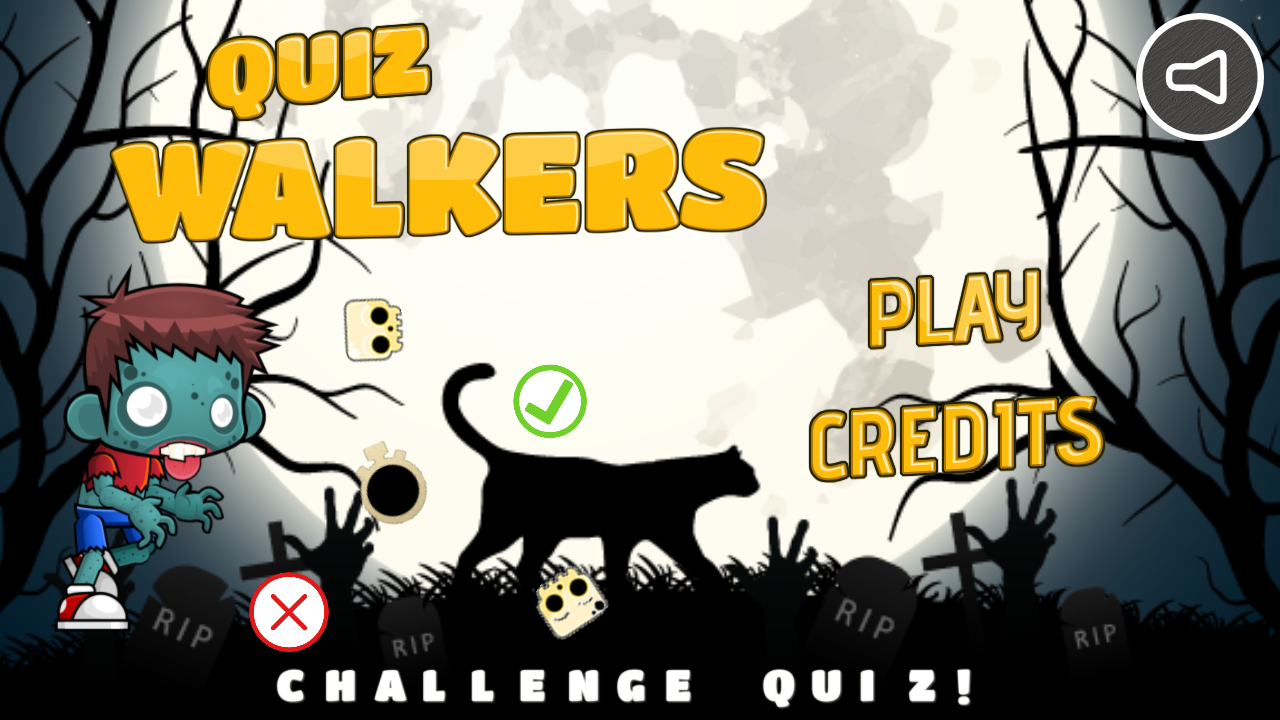 Quiz Walkers - HTML5 Game (Capx) - 1