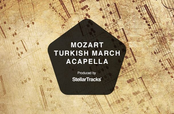 Mozart Turkish March Acapella