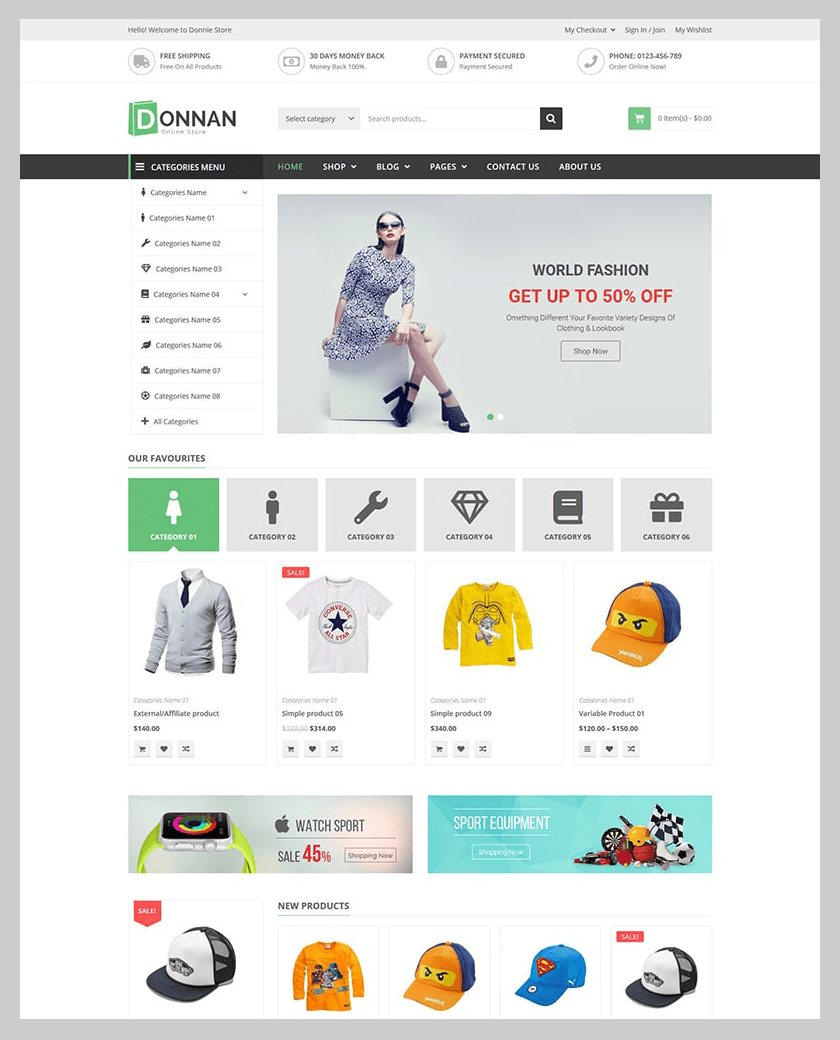 VG Donnan - Multipurpose Responsive WooCommerce Theme - 6
