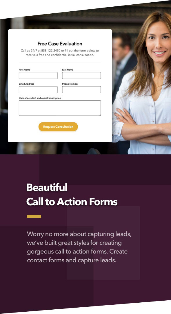 Lawyer - Law firm and Legal Attorney WordPress Theme - 4