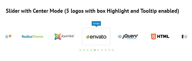 responsive logo showcase