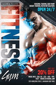 127-Fitness-gym-flyer