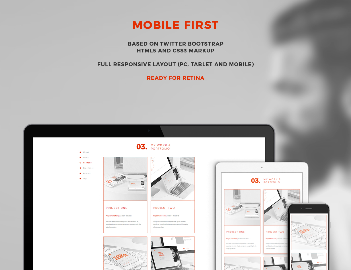 BlakeD - Portfolio & Resume Template - 14