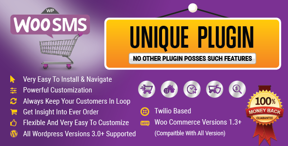 Wordpress Woo Commerce SMS Notifications Plugin