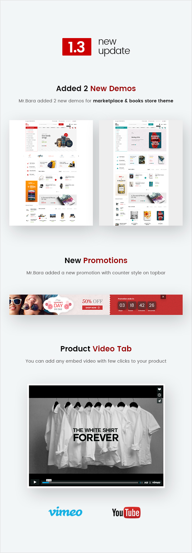 Mr.Bara - Responsive Multi-Purpose eCommerce WordPress Theme - 5