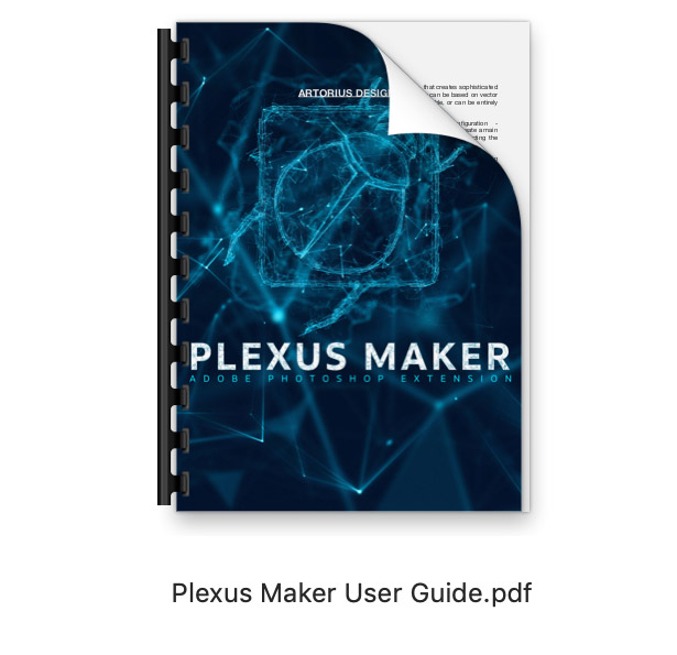 Plexus Maker plugin Photoshop extension user guide