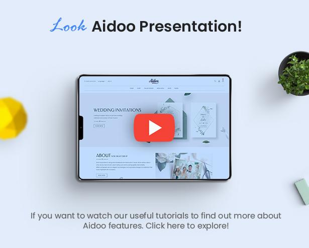 Aidoo - Wedding Card WooCommerce Theme - 10